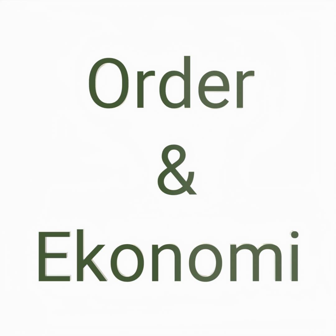 Order och ekonomi